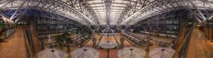 Hamburg Airport - HDR Panorama