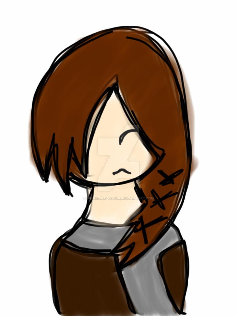 Katniss everdeen by depressed-cookie