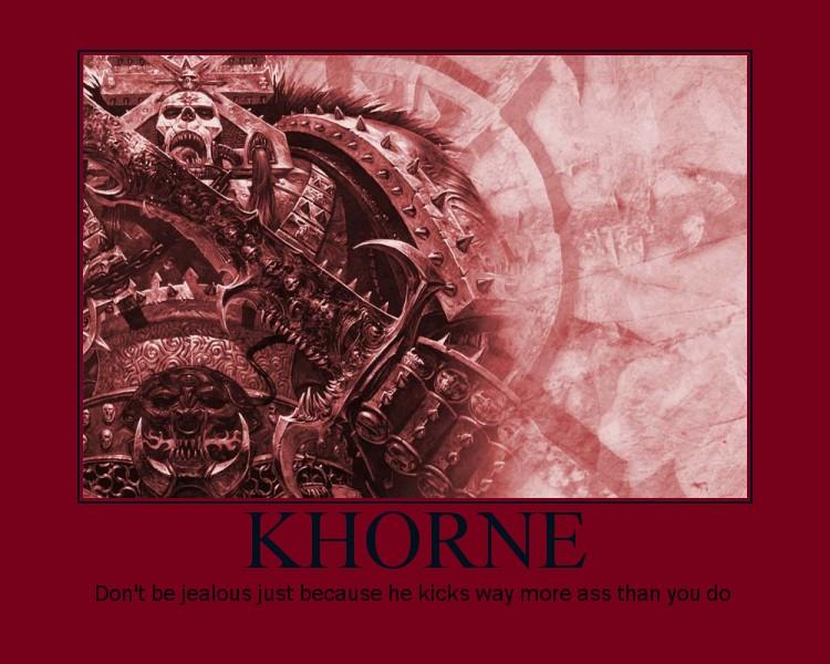Khorne by rogueleader13