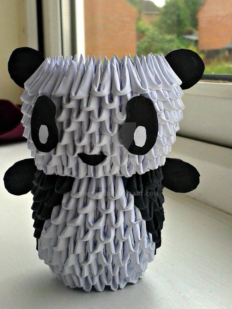 ORIGAMI PANDA :D