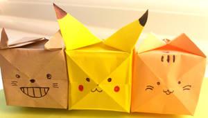 Cubetoro, Pikacube and Discoloured Cubesheen
