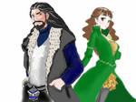 Thorin x Fem!Bilbo