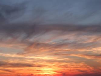 Sunset by Makinit