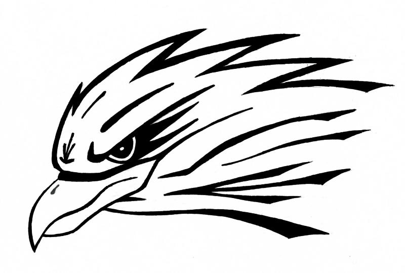 hawk head by kamakazi32 How To Draw A Hawk Head
