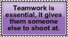 Teamwork by SirvanaRachana