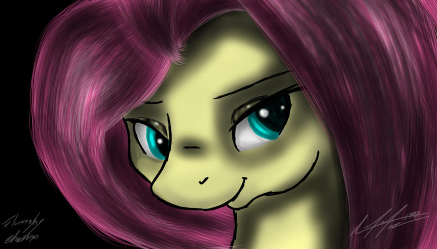Fluttershy Face by AFL316
