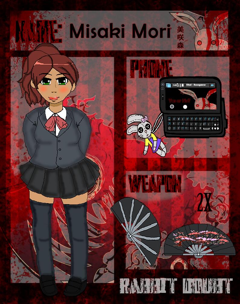 Rabbito-Dauto App: Misaki Mori by PacificIslanderGirl