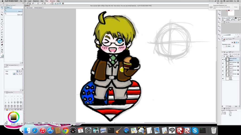 America Hetalia Sticker by PacificIslanderGirl