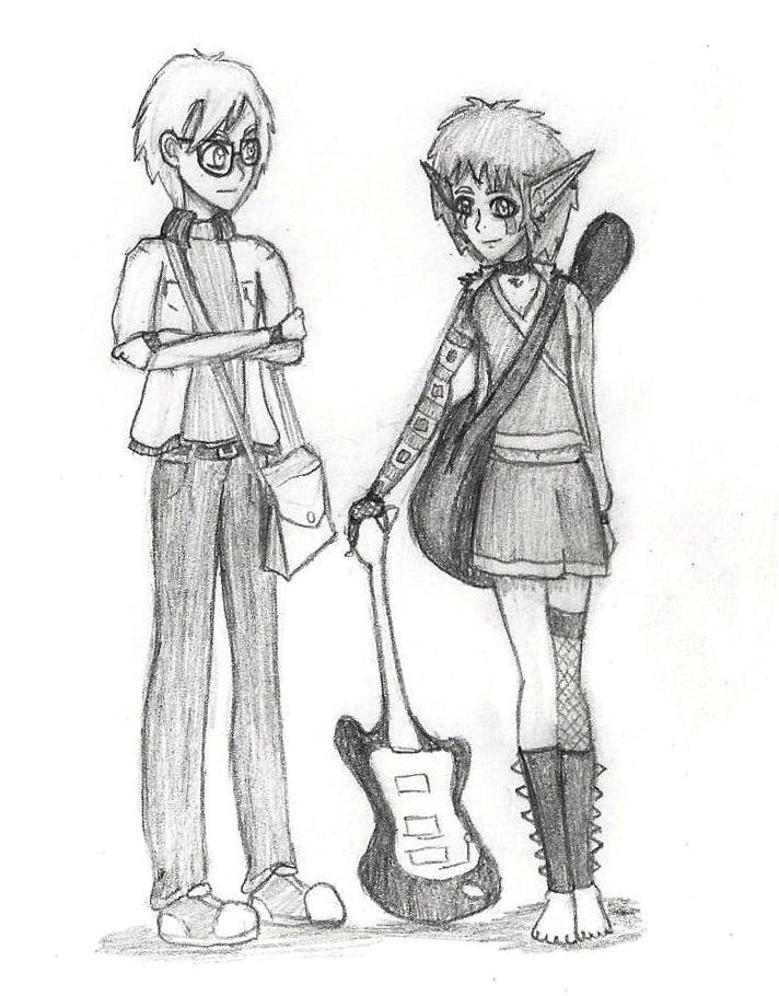 Seasons of Future- Jeremie and Aelita by LynaKiovote