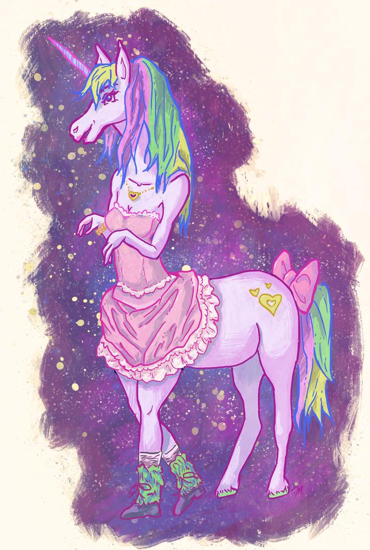 Space Lolita Centaur by Debra-Marie