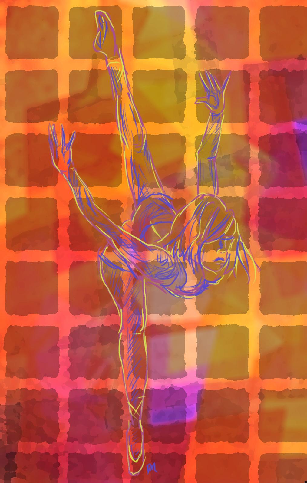 Dancing in Color by Debra-Marie