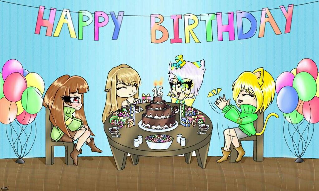 Happy birthday Yaco ! by MissYumii
