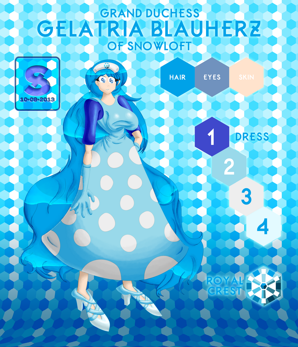 Gelatria Blauherz, Grand Duchess of Snowloft by josephstaleknight