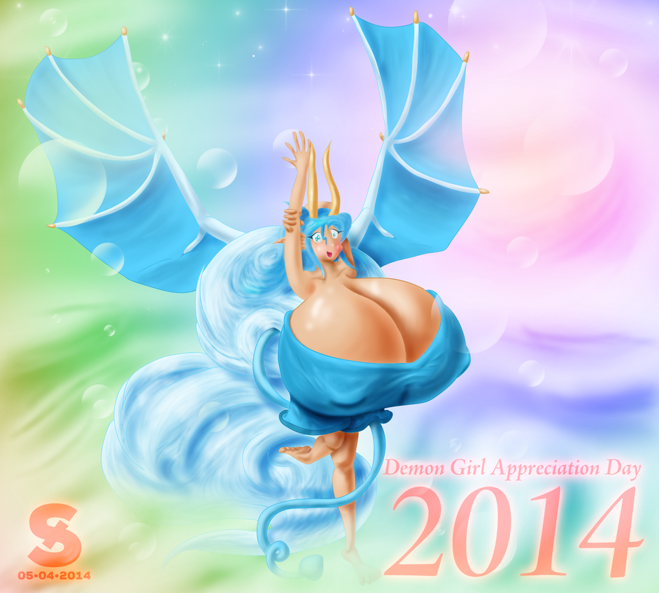 Demon Girl Appreciation Day 2014 by josephstaleknight