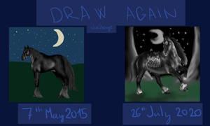 Draw it again - Shadow moon