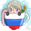Hetalia Cup Icon~ Russia by Nuit-Luna