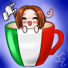 Hetalia Cup Icon~ Italy by Nuit-Luna