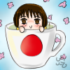 Hetalia Cup Icon~ Japan by Nuit-Luna