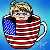 Hetalia Cup Icon~ America by Nuit-Luna