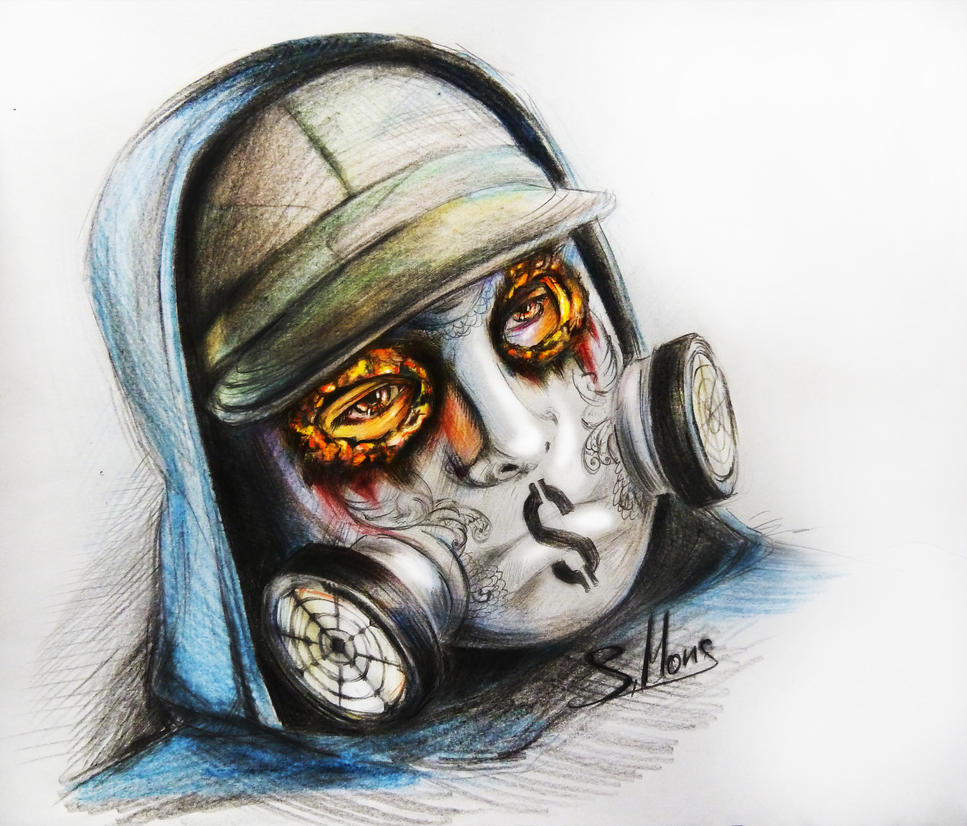 Hollywood Undead J Dog Mask 2013 HU-J-Dog by Haumi-Keik...