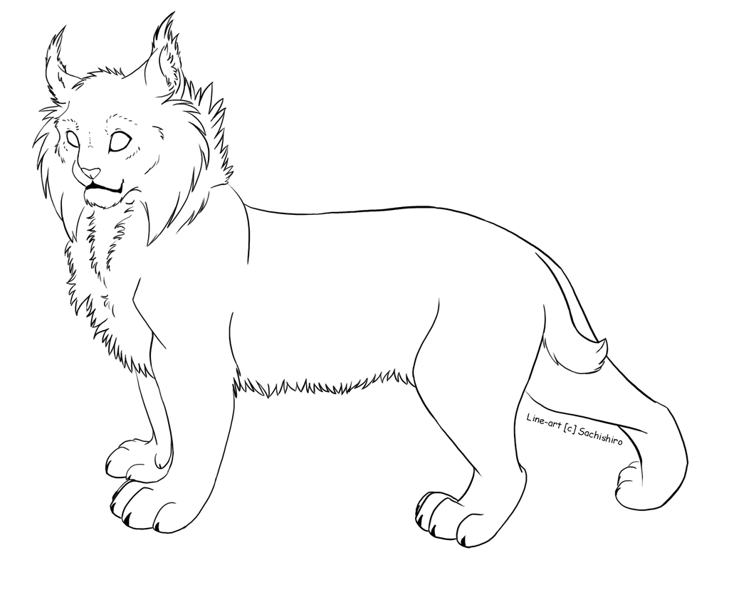 Free Cat Lineart Transparent