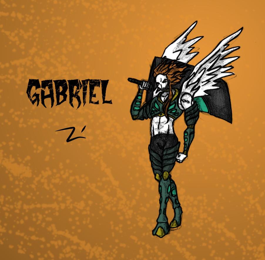 GABRIEL POSTER by galeriajesuspulido
