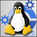 Kubuntu Tux by eightieskhild
