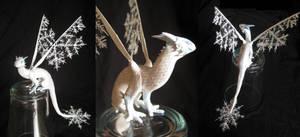 Tiny winter dragon