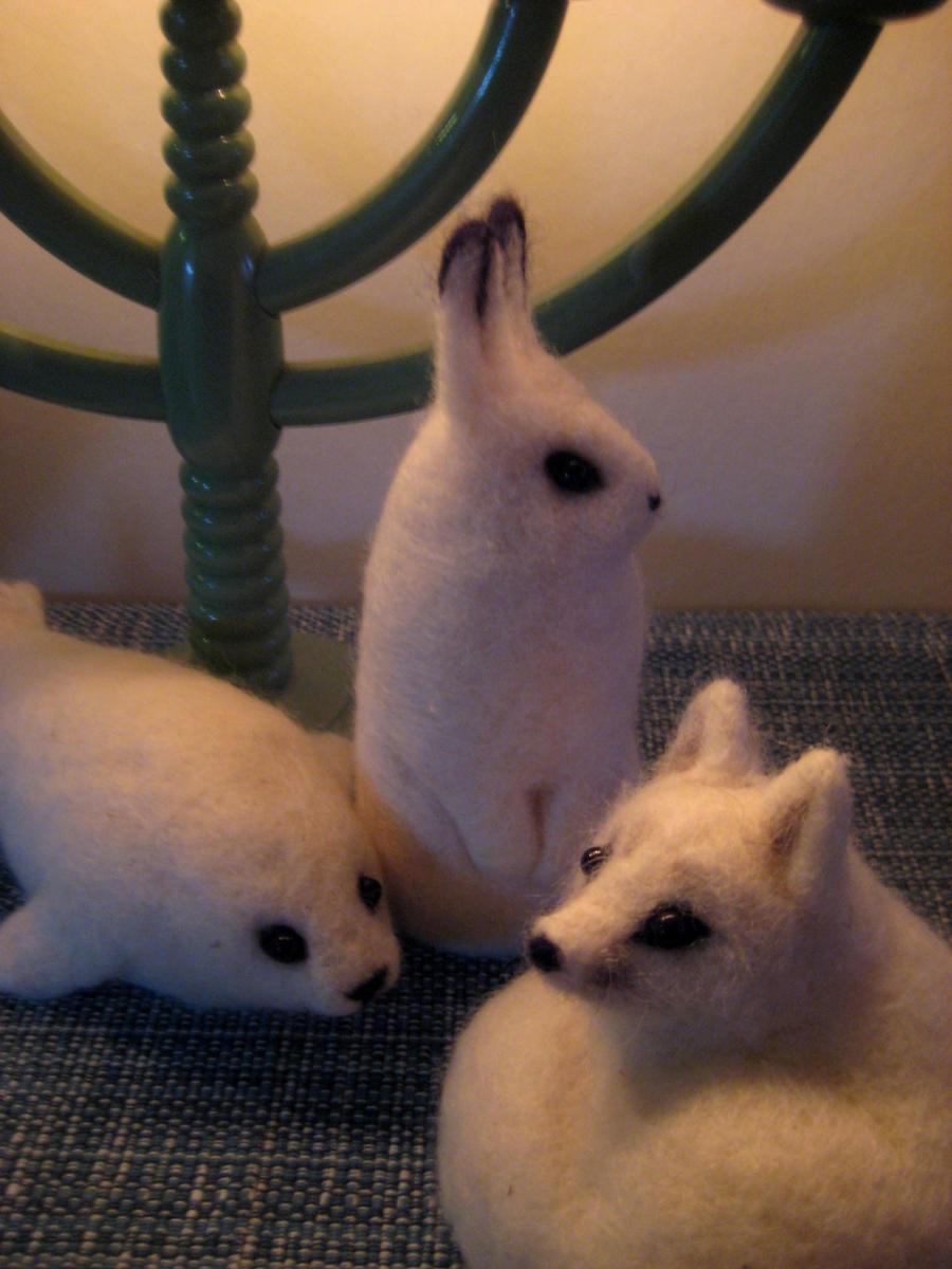 Arctic feltwork 2 by earfox