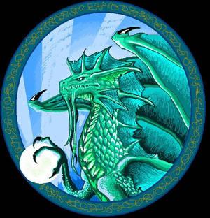 Old mspaint dragon