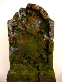 Styrofoam tombstone