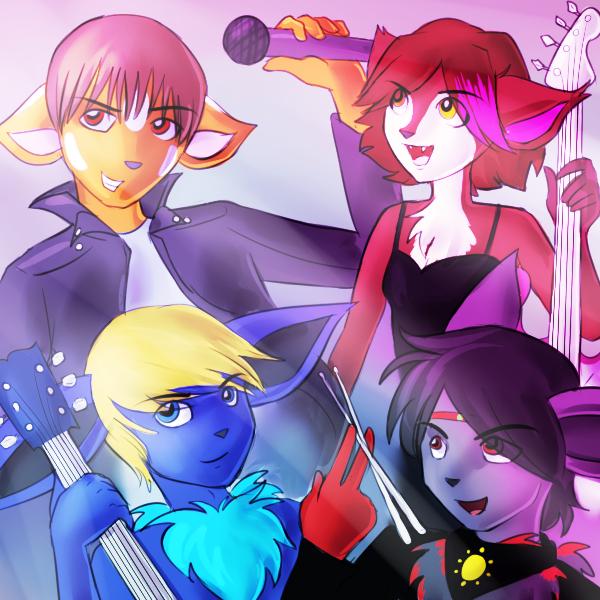 ARE YOU READY TO ROCK avatars by zurisu
