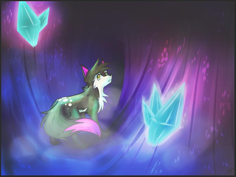 Crystal Cave by zurisu