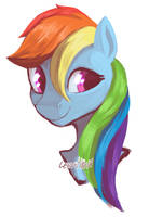 Rainbow Dash by RISTERDUS