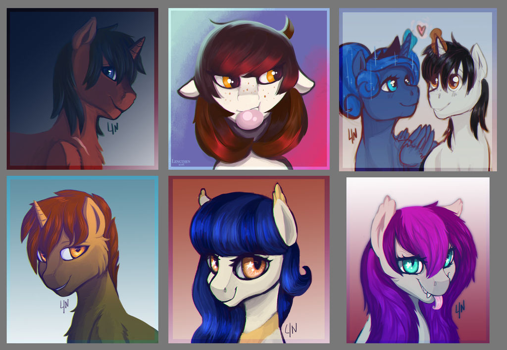 Icon gifts for my friends! by RISTERDUS