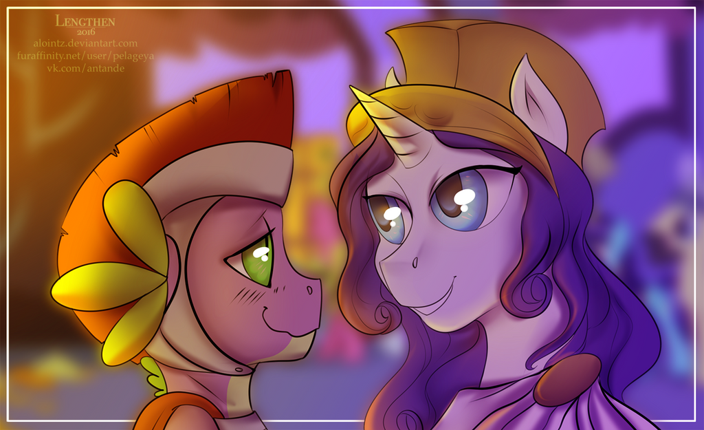 Athena and her warrior by RISTERDUS