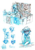 Raven [sketch dump_1] by RISTERDUS