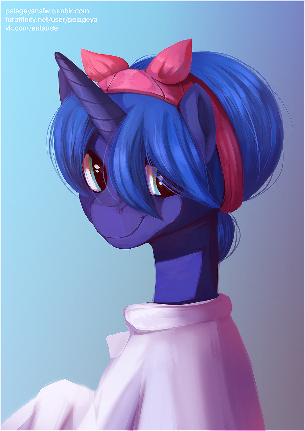Luna at home by RISTERDUS