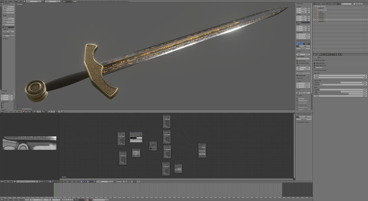Eevee Sword by obi1knobi