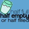 Half full, empty, filled by loolai