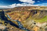 Haifoss Canyon, Iceland