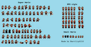 SMB3 Mario extra sprites