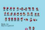 SMW Mario extra sprites