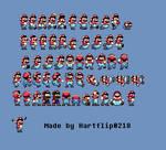 SMW Mario with headphone sprites