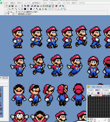 Custom Mario sprite preview by Hartflip0218