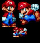 Mario (Sonic Mania Style) sprite