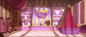 Gru's Jam Shop by Dzeeble