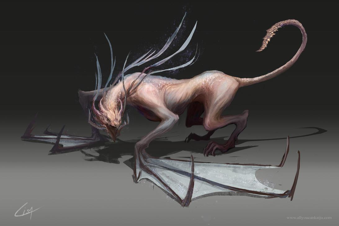Dragon Design by Dzeeble