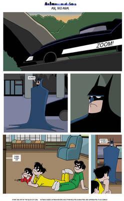 Mr. Bat-Mom Page 1