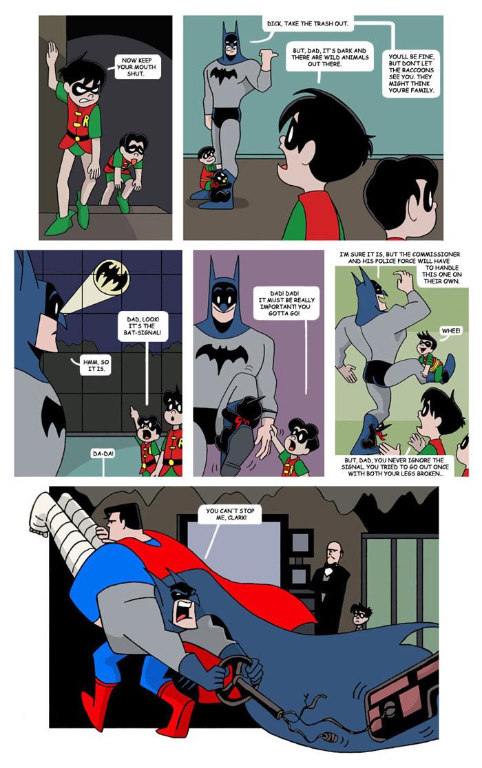 Mr  Bat-Mom Page 12 by The-BlackCat on DeviantArt